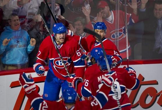 Le Canadien est la première équipe à passer au second tour. (André Pichette, La Presse)