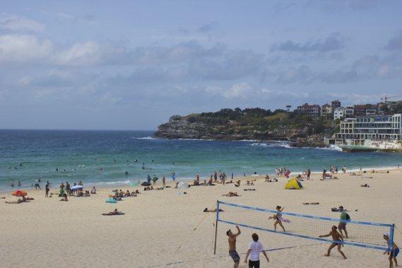 Bondi est l'une des plages les plus connues du monde. (Photo Audrey Bourget, collaboration spéciale)