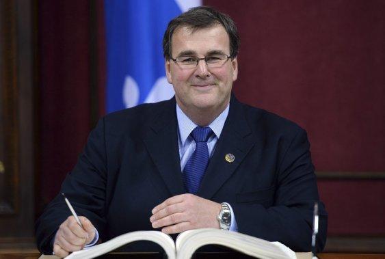 François Blais  Ministre de l'Emploi et de la Solidarité sociale (Erick Labbe Le Soleil)