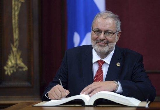 Pierre Arcand, 62 ans  Ministre de l'Énergie et des Ressources naturelles, responsable du Plan Nord, de Lanaudière et des Laurentides (Erick Labbe Le Soleil)