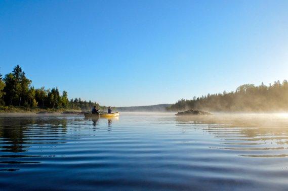 Le nouveau parc national du Lac-Témiscouata peut occuper un jeune ado durant quelques jours. (Photo fournie par la SEPAQ)