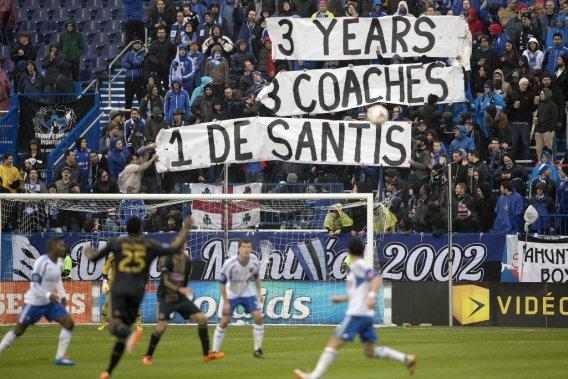 L'ambiance au Stade Saputo. (PHOTO ROBERT SKINNER, LA PRESSE)