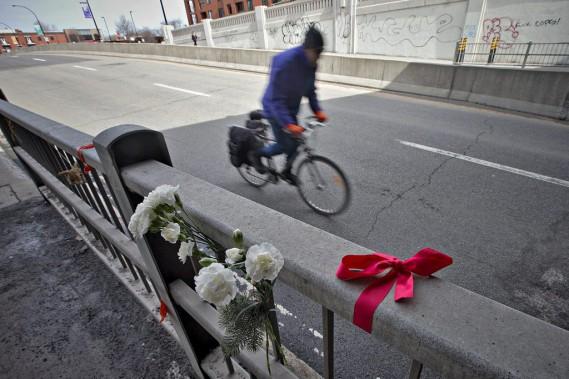 L'événement est considéré comme un accident par le Service de police de la Ville de Montréal ; aucune accusation n'a été portée contre le conducteur de 23 ans qui a frappé la cycliste. (Patrick Sanfaçon, archives La Presse)