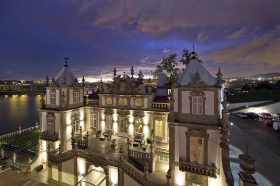 Le Palacio do Freixo, classé monument national du Portugal, domine le Douro depuis 1742. (Photo fournie par le groupe Pestana)