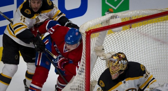 Brendan Gallagher essaye de trouver la faille. (Photo André Pichette, La Presse)