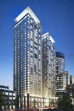 ROCCABELLA (phase 1) 40 étages, 147 m, 298 condos (Béïque, Legault, Thuot architectes)