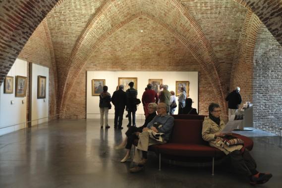 Le peinte Henri de Toulouse-Lautrec en l'une des nombreuses figures locales. Le musée qui lui est consacré vient d'être rénové. (Photo François Pons, fournie par le Musée Toulouse-Lautrec D'Albi)