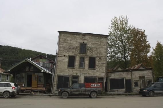 Au plus fort de la ruée vers l'or, Dawson City comptait plus de 30 000 habitants. Ils sont aujourd'hui à peine 4000. (Photo Marie-Julie Gagnon, collaboration spéciale)