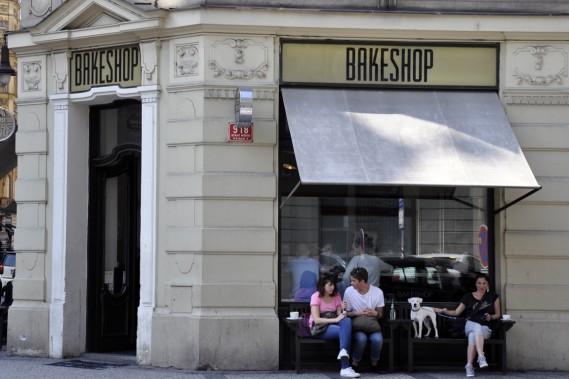 Un arrêt au chic café-boulangerie Bakeshop permet de savourer sandwichs frais, cappucinos mousseux et biscuits. (Photo Stéphanie Morin, La Presse)