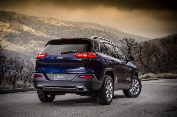 Jeep Cherokee (Photo fournie par Jeep)