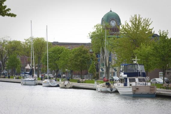 Le Vieux Canal est LA raison d'aller visiter la ville, que ce soit pour une simple promenade à pied ou une plus grande balade à vélo. (Photo André Pichette, La Presse)