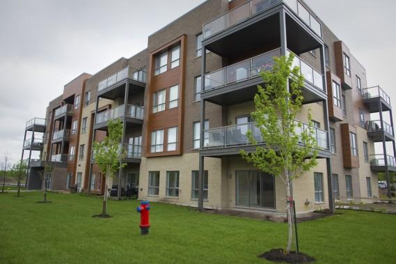 Avec ses 600 condos et maisons en rangée, Quartier Vaudelin 2 aura une certaine densité. La verdure y occupera toutefois une place enviable. (Photo André Pichette, La Presse)