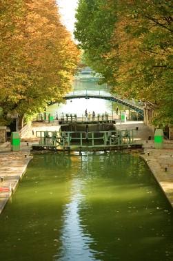 Le canal Saint-Martin. Charmant! (Photo Digital Vision/Thinkstock)