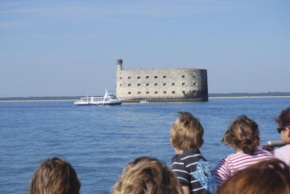 Le célèbre Fort Boyard, au large de La Rochelle. (PHOTO FOURNIE PAR L'OFFICE DE TOURISME DE LA ROCHELLE)