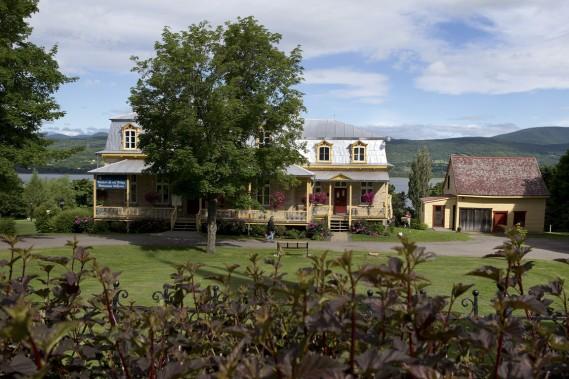 La Maison de nos aïeux, tout près du parc des Ancêtres, mérite une petite visite fort instructive. (Photo Robert Skinner, La Presse)