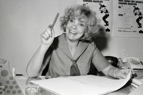 <span>Marjolaine</span> <span>Hébert en </span>mai 1972. (Photo: Réal St-Jean, archives La Presse)
