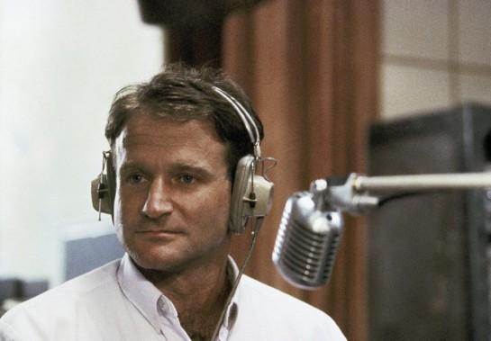 Dans la peau de son personnage Adrian Cronauer, dans <em>Good Morning Vietnam</em> (1987), un de ses films les plus populaires. ()