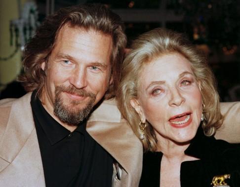 Lauren Bacall a partagé la vedette avecJeff Bridges dans la comédie dramatique <em>The Mirror Has Two Faces</em>. (Reuters)