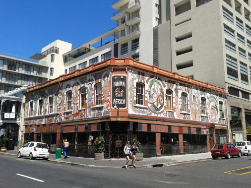 L'ambiance <i>cool</i> de Long Street. (Photo Sylvie St-Jacques, La Presse)
