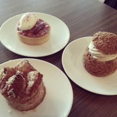 Un assortiment de desserts chez Patrice Pâtissier. (Photo fournie par Omnivore)