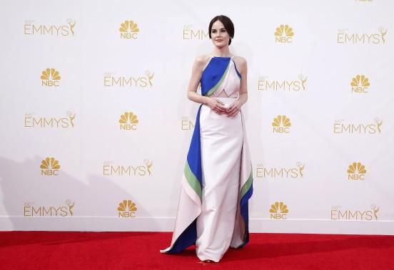 Michelle Dockery de la série <em>Downton Abbey</em> (Photo LUCY NICHOLSON, REUTERS)