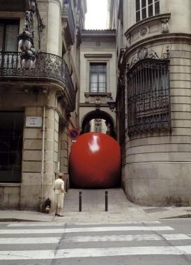 À Barcelone, en Espagne, en juin 2002. (Photo fournie par l'artiste)