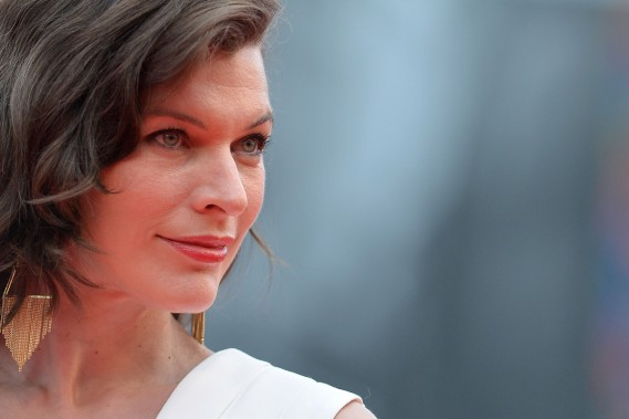 Jour 8 - Milla Jovovich était à la projection du film <em>Cymbeline</em>. (Photo: AFP)