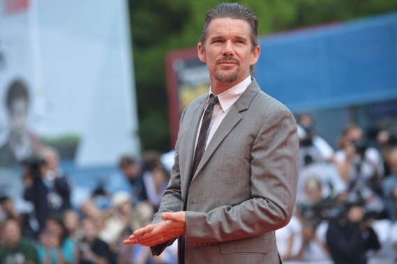 Jour 8 - Ethan Hawke à la projection de <em>Cymbeline</em>. (Photo: AFP)