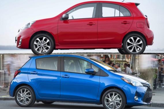 Nissan Micra - Toyota Yaris: au royaume des petits prix
