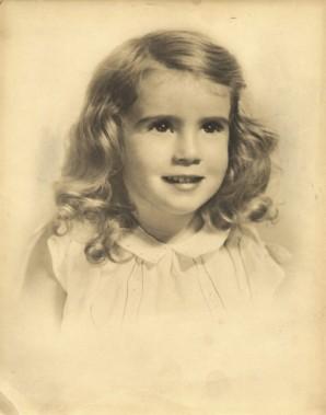 Joan Rivers enfant. (Photo: tirée de Facebook)