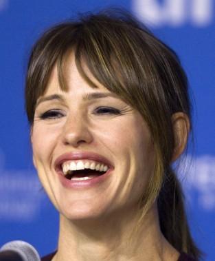 Jour 3 -L'actrice Jennifer Garner a assisté à laconférence de presse pour le film<em>Men, Women &amp; Children.</em> (PHOTO FRED THORNHILL, REUTERS)