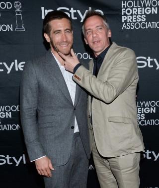 Jour 4 -Jake Gyllenhaal et le réalisateur québécois Jean-Marc Vallée à une soirée dans le cadre du TIFF. (Photo Evan Agostini, AP)
