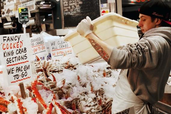 Parce que l'amateur de sport a souvent un petit creux, le Pike Place Market est l'endroit par excellence où faire des provisions. (Photo Charlie Schuck, fournie par le Pike Place Market)