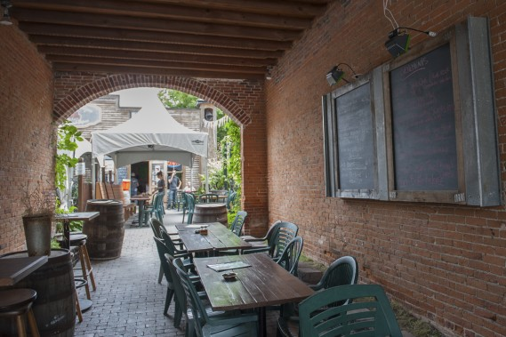 Brasserie Dunham (Photo Catherine Lefebvre, collaboration spéciale)