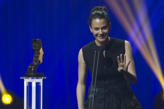 Fanny Malette a remporté le Gémeaux du meilleur rôle féminin dramatique, pour la série <em>Mensonges</em>. (Olivier Jean, La Presse)