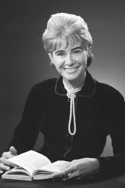 Anne Hébert en 1962. (Photo: fournie par Ronald Desmarais)