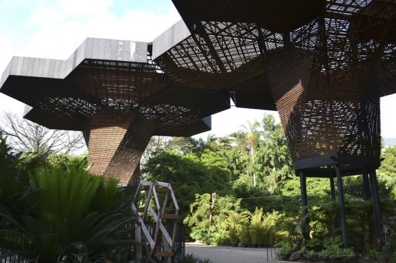 L'Orchideorama est un projet qui a été mené par un jeune groupe d'architectes deMedellín. (Photo Violaine Ballivy, La Presse)