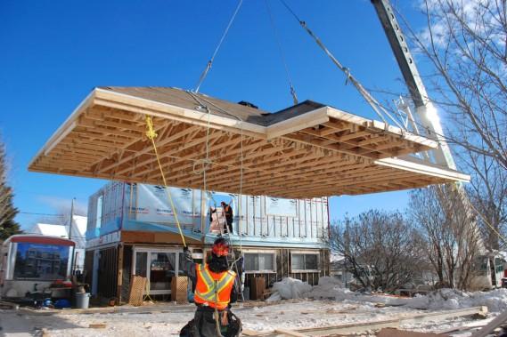 Agrandir sa maison par le toit extension ossature bois un for Accouchement difficile a la maison