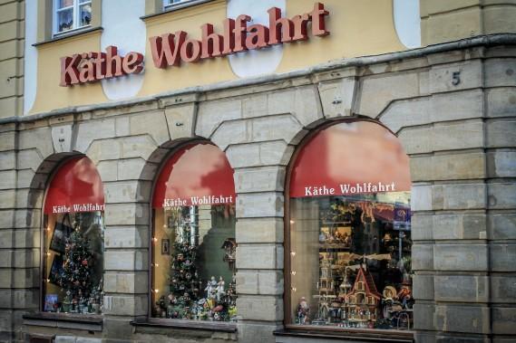 Käthe Wohlfahrt propose un grand assortiment de décorations de Noël. (Photo Jessica Théroux, Collaboration spéciale)