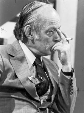 René Lévesque au débat des chefs en 1978 (Archives Le Soleil)
