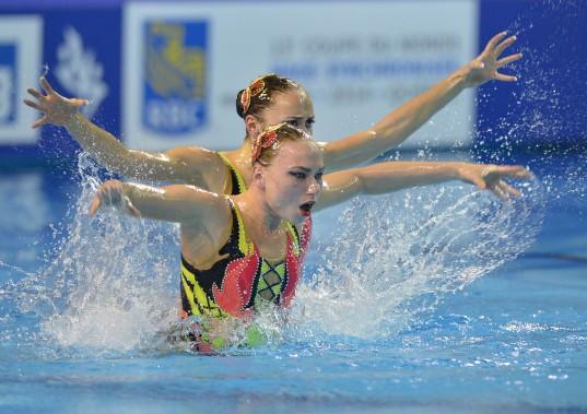 Le duo de l'Ukraine en finale (4 octobre) (Le Soleil, Yan Doublet)