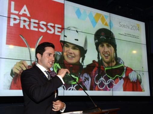 Le skieur acrobatique Alexandre Bilodeau a officialisé sa retraite, mardi. (Photo Bernard Brault, La Presse)