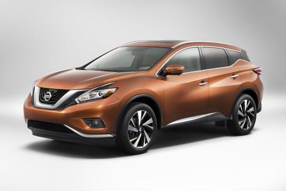 Nissan Murano - Prix non dévoilé - La troisième génération du VUS Murano reçoit le même coup de crayon que ses frères Pathfinder et Rogue ont reçu au cours des deux dernières années. (Photo Nissan)
