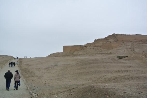 Le site archéologique de Pachacamac présente des ruines allant de la civilisation Lima aux Incas. (Photo David Riendeau, collaboration spéciale)