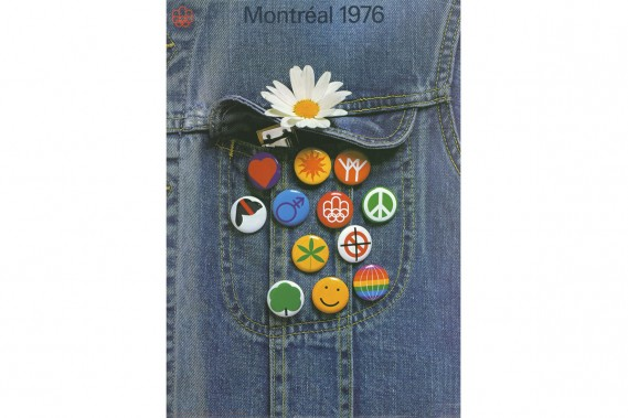Affiche conçue par Pierre-Yves Pelletier et Raymond Bellemare, 1972. (Photo: image fournie par BAnQ)