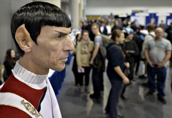 Un Comiccon n'en est pas un sans un personnage de <i>Star Trek</i>. Monsieur Spock est descendu de l'<i>Entreprise </i>le temps de l'événement. (Le Soleil, Pascal Ratthé)