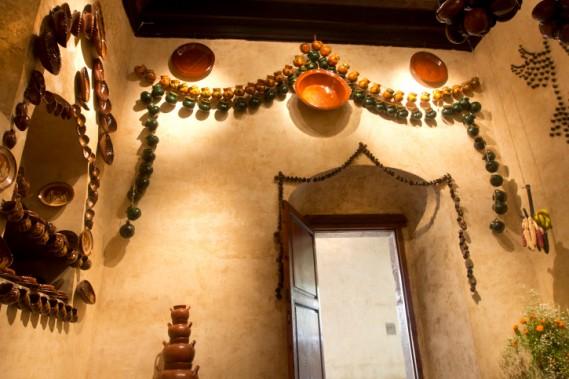 Les poteries sur les murs ajouteront une touche latino très appétissante. (Photo Digital/Thinkstock)