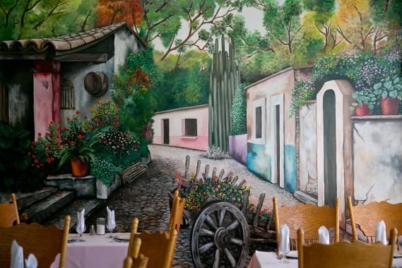 N'hésitez pas à observer la déco des restaurants sud-américains. La Guadalupe mexicaine, à Montréal, arbore une splendide murale. (Photo archives La Presse)