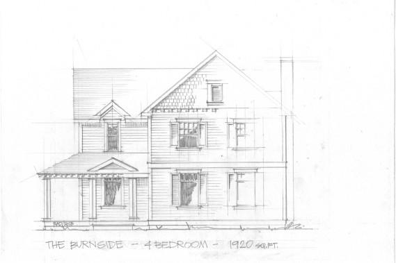Plan d'une maison qui sera construite dès le printemps prochain à la ferme. (Image fournie par la Ferme Hendricks)