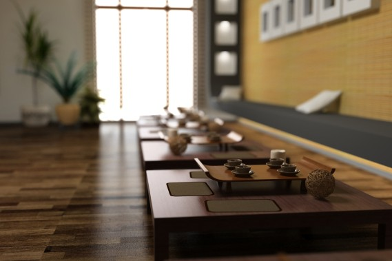 La gastronomie occupant une place primordiale dans la société japonaise, s'équiper d'un service en bois est un très bon choix pour compléter la décoration. (Photo Thinstock)